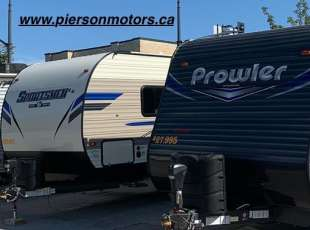 We Rent Travel Trailers too!!